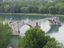 Avignon Bridge Royalty Free Stock Images