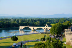 Avignon bridge Royalty Free Stock Image