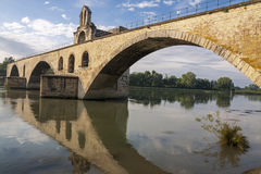 Avignon bruten bro Royaltyfri Fotografi