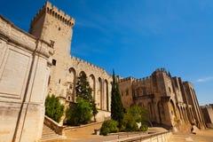Avignon castle Royalty Free Stock Photos