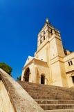 Avignon church in central downtown square Stock Photo