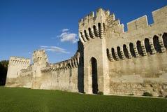 The Avignon city walls Royalty Free Stock Photo