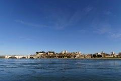 Avignon cityscape Royalty Free Stock Photos