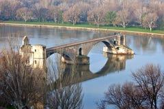 avignon D pont Royaltyfri Bild