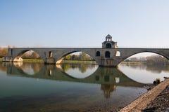 avignon D pont Fotografering för Bildbyråer