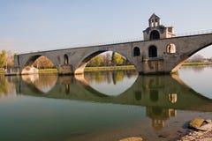 avignon D pont Arkivbilder