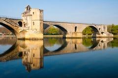 avignon D pont Royaltyfria Bilder