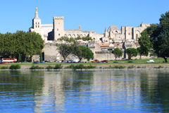 Avignon, DES Papes de Palais Fotos de Stock