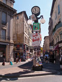 Avignon durante il festival Immagine Stock