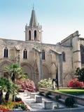 Avignon, France. Temple Saint Martial at Square Agricol Perdiguier in Avignon Royalty Free Stock Image