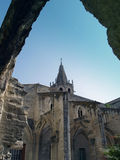 Avignon, France. Temple Saint Martial at Square Agricol Perdiguier in Avignon Stock Image