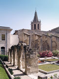 Avignon, France. Temple Saint Martial at Square Agricol Perdiguier in Avignon Stock Photo
