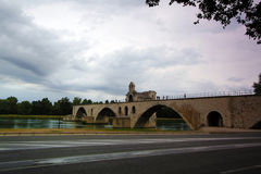Avignon, France - famous Avignon Bridge Royalty Free Stock Photos