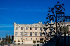 Museum of the small Palace in Avignon France stock images