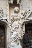 Avignon historisk kyrka royaltyfria foton