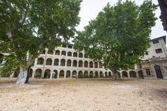 Avignon, hof Stock Afbeelding