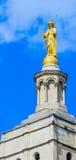 Avignon påveslott royaltyfria foton