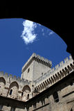 Avignon palace in France Royalty Free Stock Image