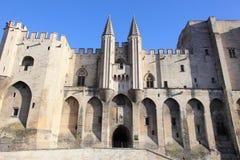 Avignon palace Stock Photos