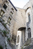 Avignon, Palais des Papes, rear view Royalty Free Stock Photo