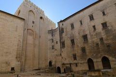 Avignon: Paleis van de Pausen royalty-vrije stock foto