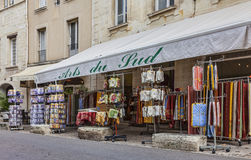 Avignon pamiątek sklep Zdjęcia Royalty Free