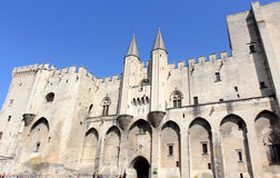 Avignon Pope palace, France. Stock Photography