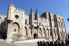 Avignon Pope palace, France. Stock Images
