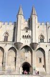 Avignon Pope palace, France. Royalty Free Stock Image