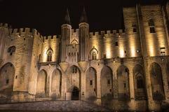 Avignon pope palace Royalty Free Stock Photos