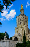 Avignon pope palace Stock Photo