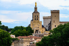 Avignon pope palace Royalty Free Stock Image