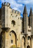 Avignon pope palace Stock Photos