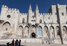 Avignon Popes pałac Provence Francja Zdjęcie Royalty Free