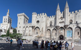 Avignon Popes Palace Provence France Stock Photography