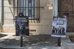 AVIGNON, PROVENCE, FRANÇA - 5 DE JULHO DE 2017: ` Avignon do festival d Foto de Stock Royalty Free