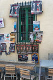 AVIGNON, PROVENCE, FRANÇA - 5 DE JULHO DE 2017: ` Avignon do festival d Imagem de Stock Royalty Free