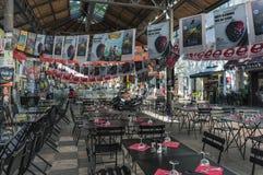 AVIGNON, PROVENCE, FRANÇA - 5 DE JULHO DE 2017: ` Avignon do festival d Imagem de Stock