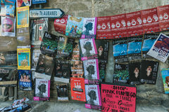 AVIGNON, PROVENCE, FRANÇA - 5 DE JULHO DE 2017: ` Avignon do festival d Fotografia de Stock Royalty Free