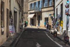 AVIGNON, PROVENCE, FRANCE - 5 JUILLET 2017 : ` Avignon du festival d Image stock