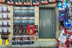 AVIGNON, PROVENCE, FRANCE - 5 JUILLET 2017 : ` Avignon du festival d Photographie stock