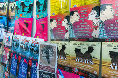 AVIGNON PROVENCE, FRANKRIKE - JULI 5, 2017: ` Avignon för festival D Royaltyfri Foto