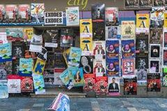AVIGNON PROVENCE, FRANKRIKE - JULI 5, 2017: ` Avignon för festival D Royaltyfri Bild