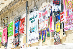 Avignon Theatre Festival Royalty Free Stock Photography