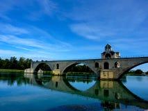Avignone - la Provenza - la Francia - il ponte Fotografia Stock Libera da Diritti