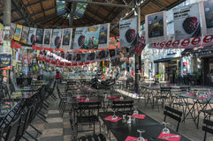 AVIGNONE, PROVENZA, FRANCIA - 5 LUGLIO 2017: ` Avignone di festival d Immagine Stock