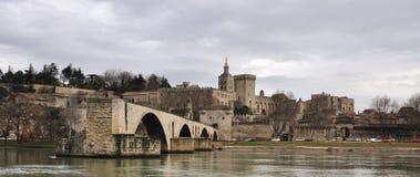 Avignons Brücke, Pont d'Avignon Lizenzfreie Stockfotos