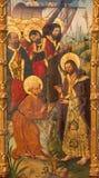 AVILA, ΙΣΠΑΝΙΑ, ΑΠΡΙΛΙΟΣ - 18, 2016: Η αποστολή ζωγραφικής του ST Paul από το ST Peter και τους αποστόλους από το Fernando Galleg Στοκ Φωτογραφίες