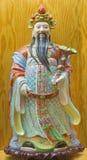 AVILA, ΙΣΠΑΝΙΑ, ΑΠΡΙΛΙΟΣ - 18, 2016: Η κινεζική πορσελάνη Famille αυξήθηκε αριθμός της τυχερής ευημερίας Θεών Tao - Fu Στοκ φωτογραφία με δικαίωμα ελεύθερης χρήσης