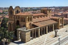Avila μοναστήρι - Ισπανία Στοκ Εικόνα